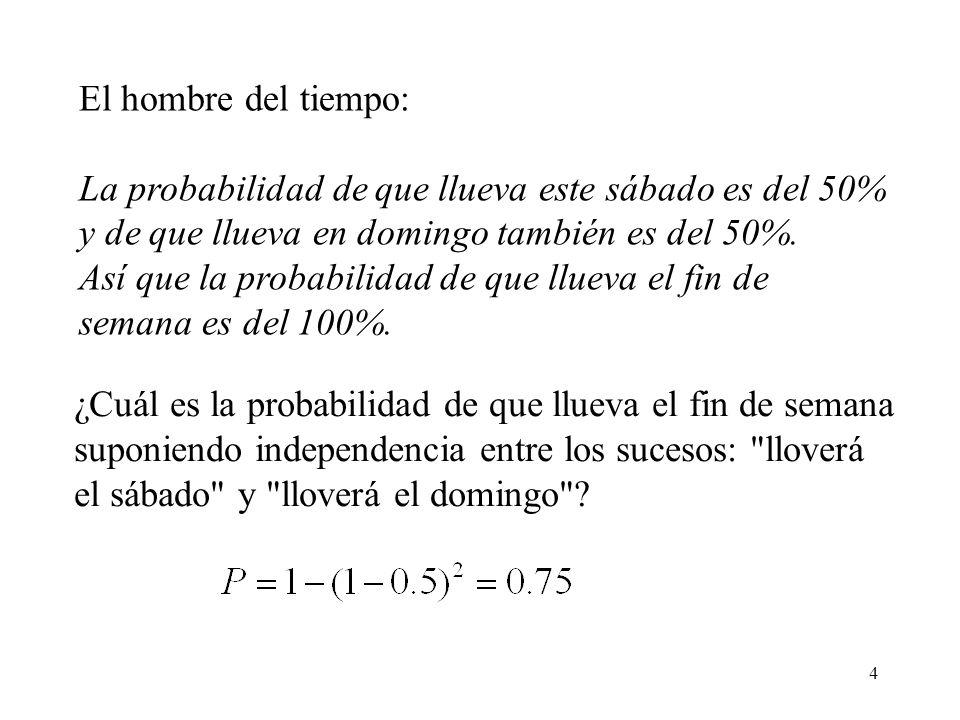 3 La Probabilidad es una disciplina matemática cuyos propósitos son de la misma clase que, por ejemplo, los de la Geometría o la Mecánica Analítica. E