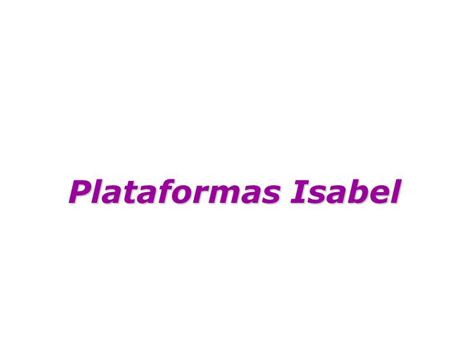 Plataformas Isabel