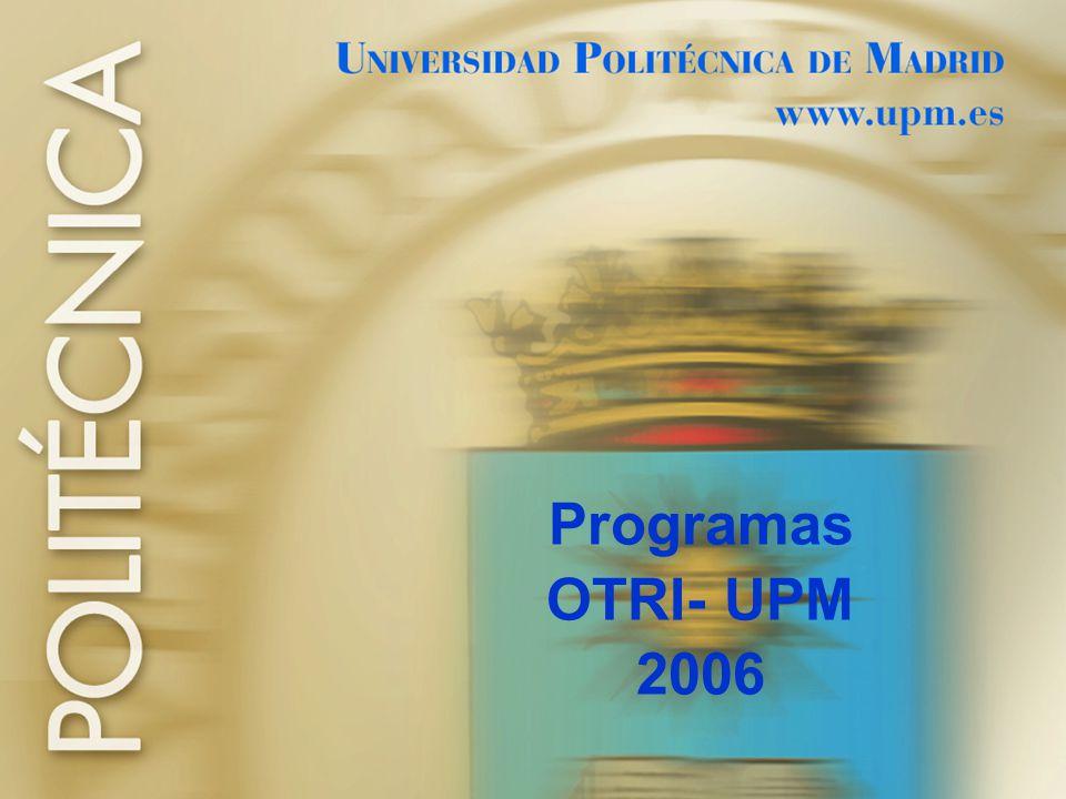Programas OTRI- UPM 2006