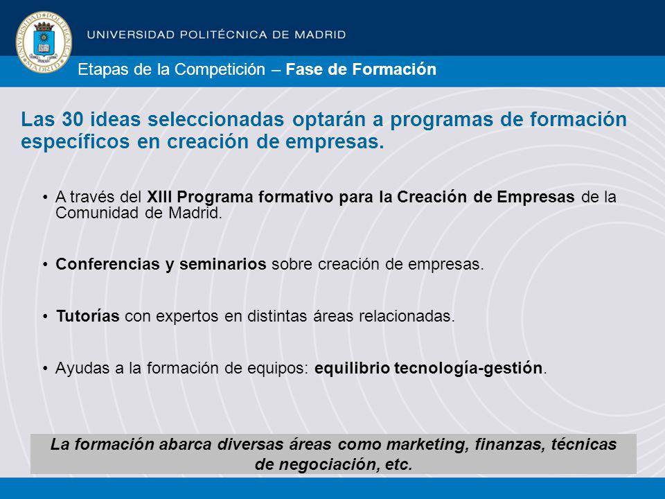 A través del XIII Programa formativo para la Creación de Empresas de la Comunidad de Madrid.