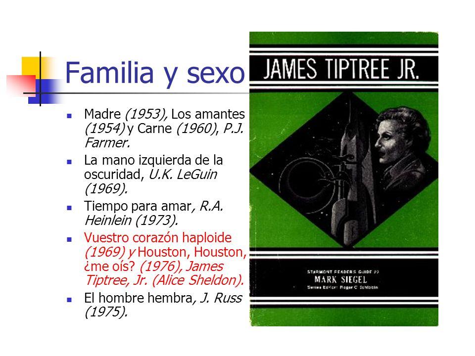 Familia y sexo Madre (1953), Los amantes (1954) y Carne (1960), P.J.