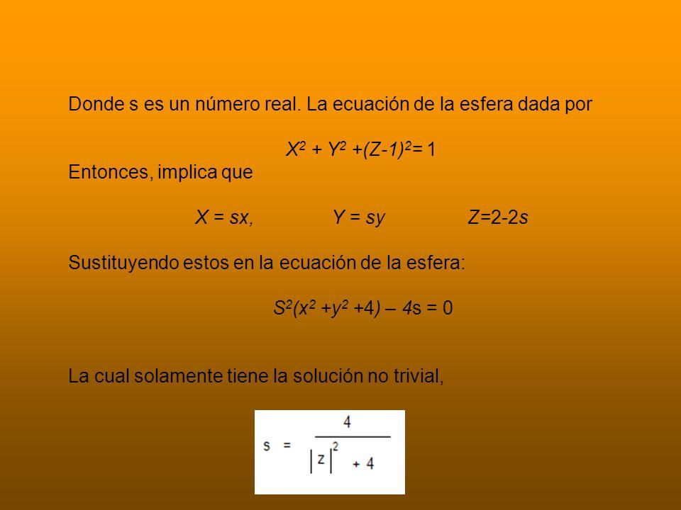 Donde = x2 +y2.
