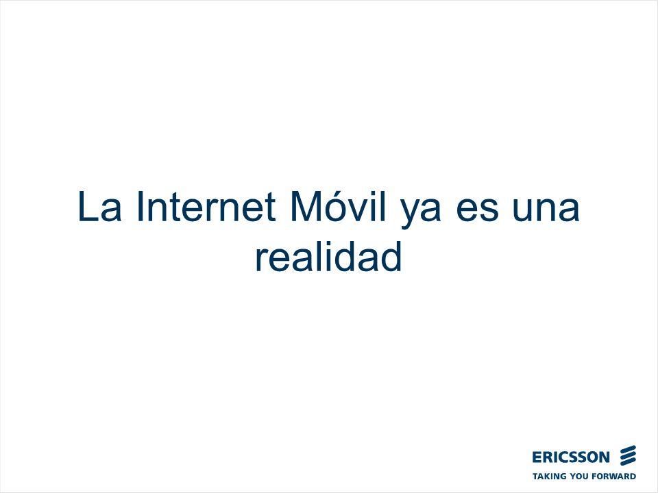 La Internet Móvil ya es una realidad