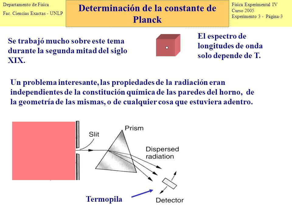 Física Experimental IV Curso 2005 Experimento 3 - Página-3 Departamento de Física Fac.