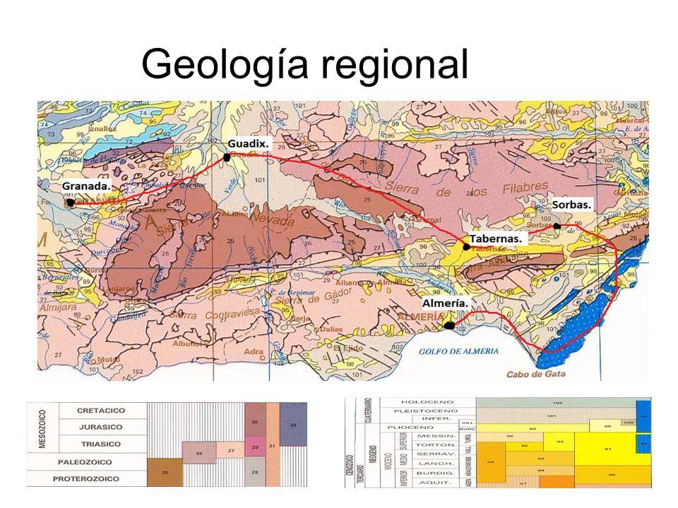 Geología regional