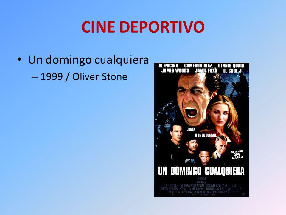 CINE DEPORTIVO Un domingo cualquiera – 1999 / Oliver Stone