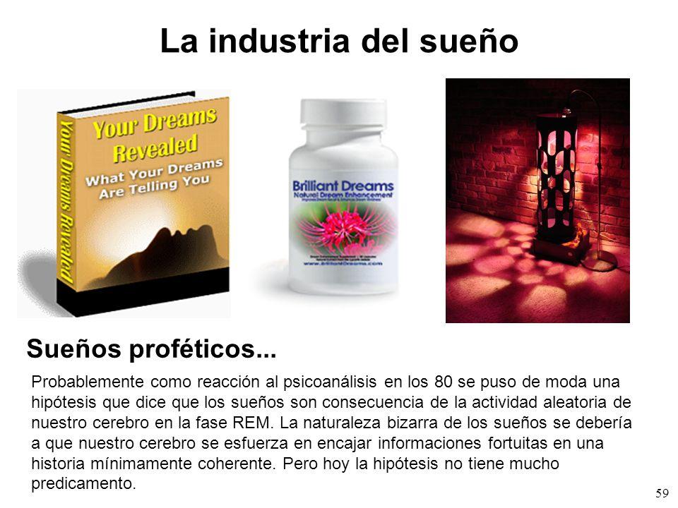 59 La industria del sueño Sueños proféticos...