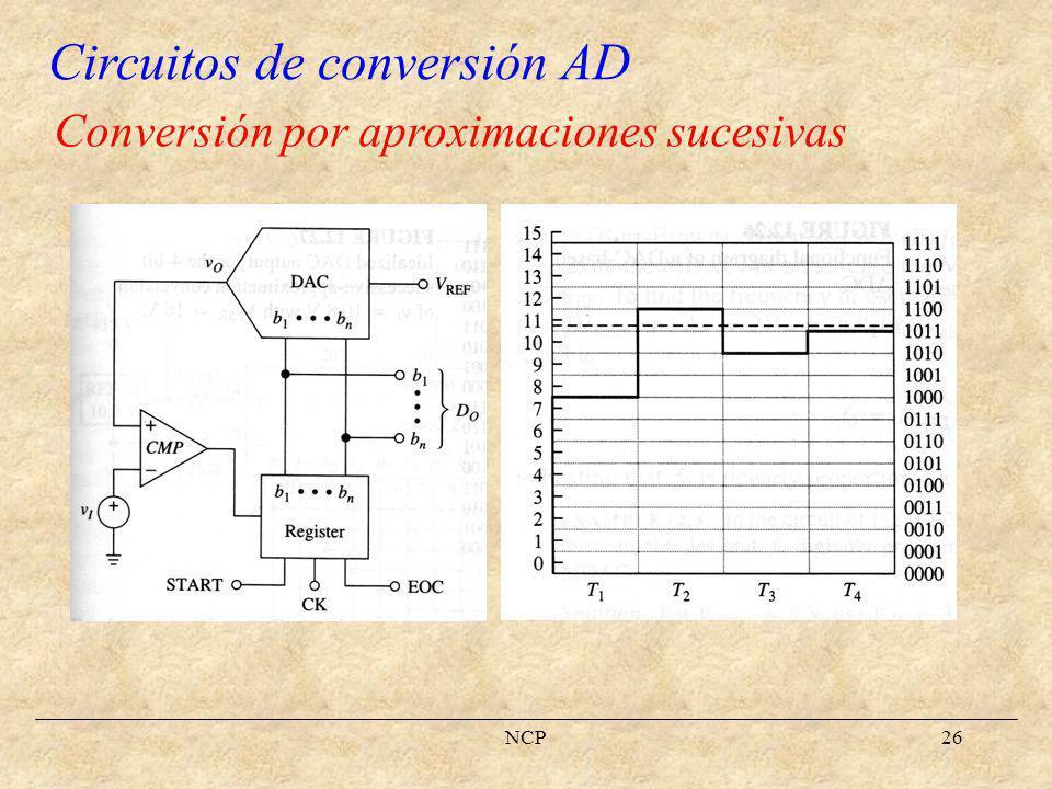 NCP27 Conversión flash
