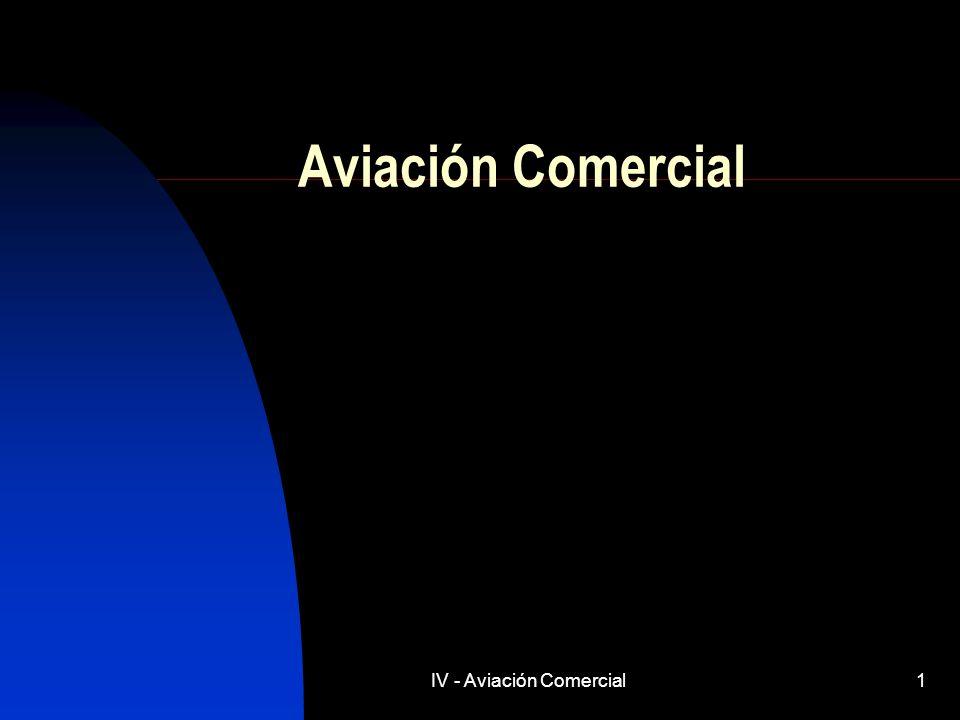 IV - Aviación Comercial1 Aviación Comercial
