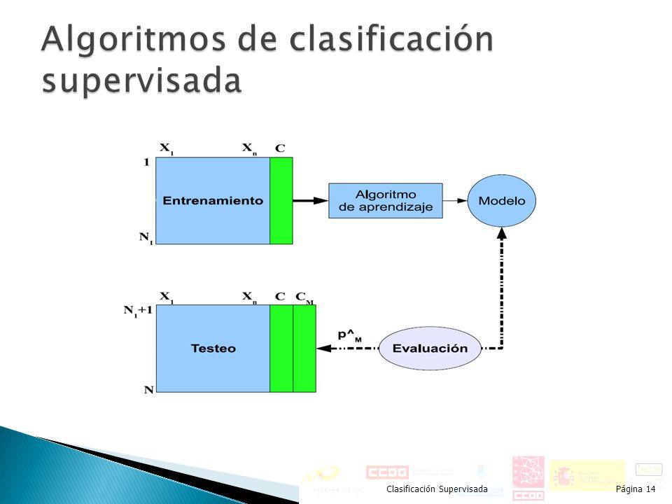 Clasificación SupervisadaPágina 14