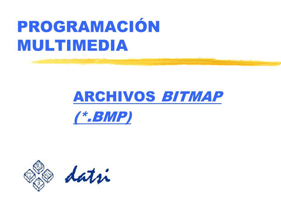 PROGRAMACIÓN MULTIMEDIA ARCHIVOS BITMAP (*.BMP)