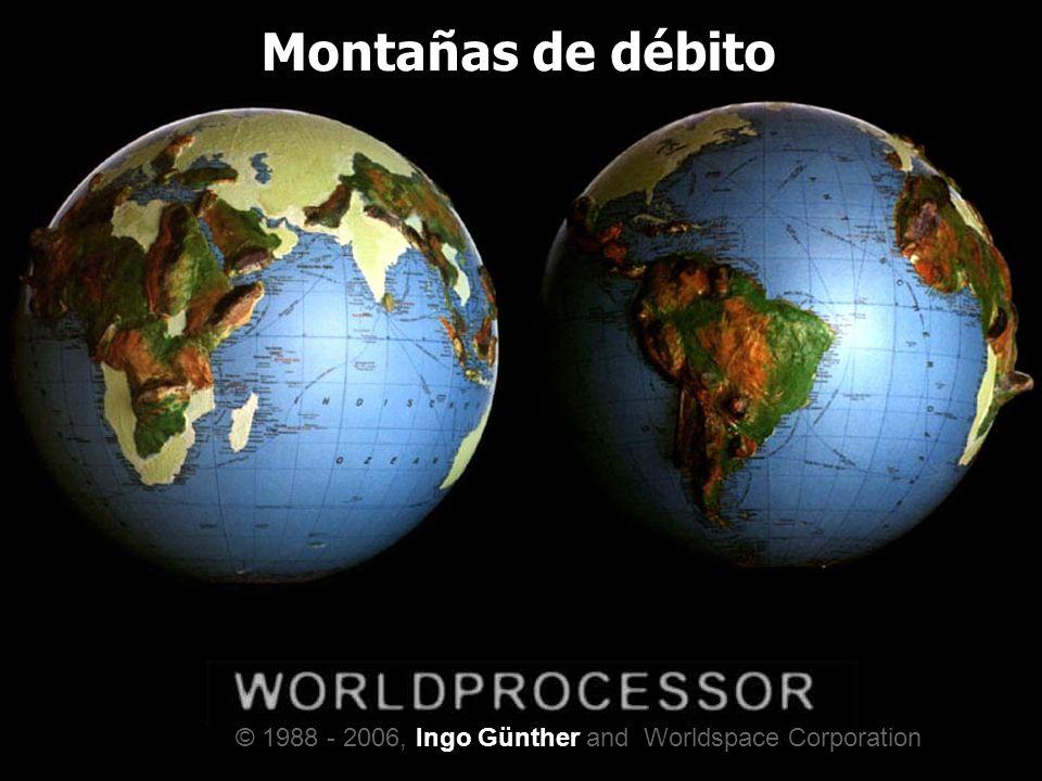 Montañas de débito © 1988 - 2006, Ingo Günther and Worldspace Corporation