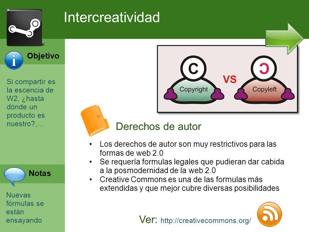Programación Web en Servidor Curso INEM 2010 Si compartir es la escencia de W2, ¿hasta dónde un producto es nuestro?,… Nuevas fórmulas se están ensaya