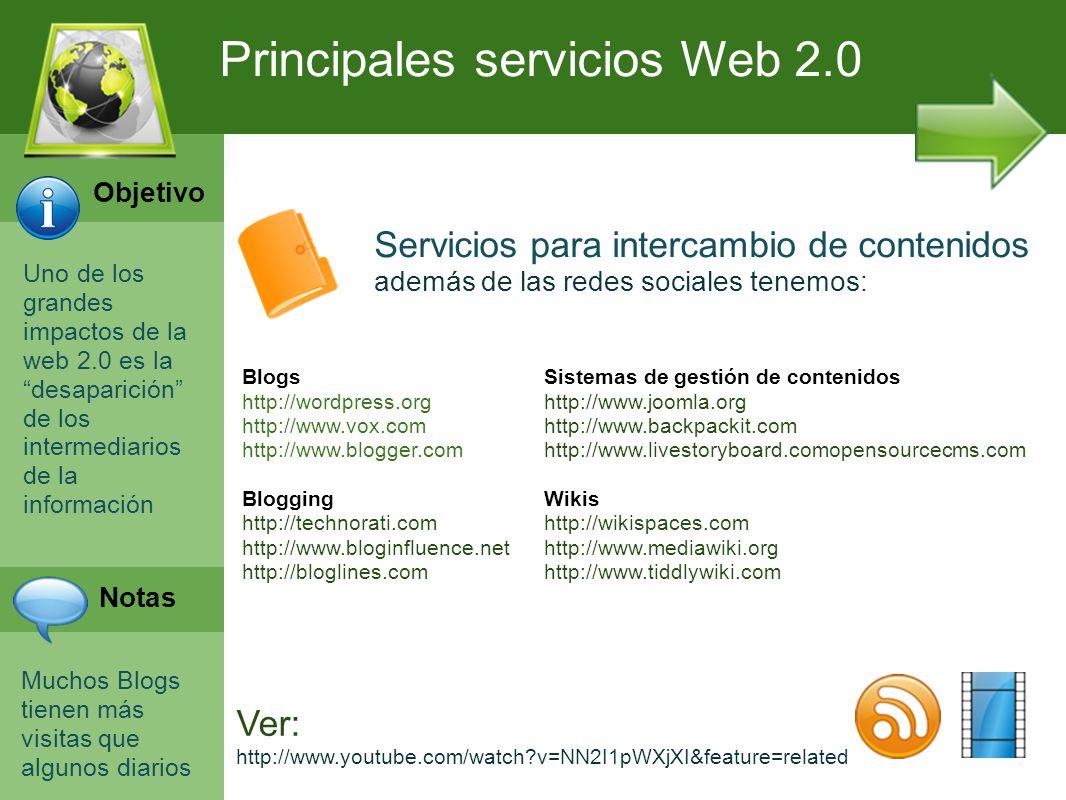 Programación Web en Servidor Curso INEM 2010 Uno de los grandes impactos de la web 2.0 es la desaparición de los intermediarios de la información Much