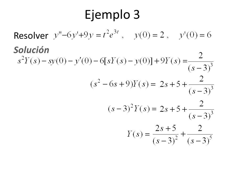 Resolver Solución Ejemplo 3