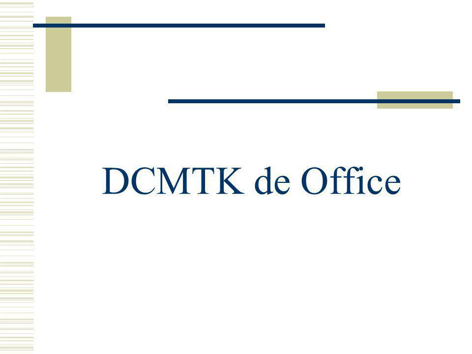 DCMTK de Office