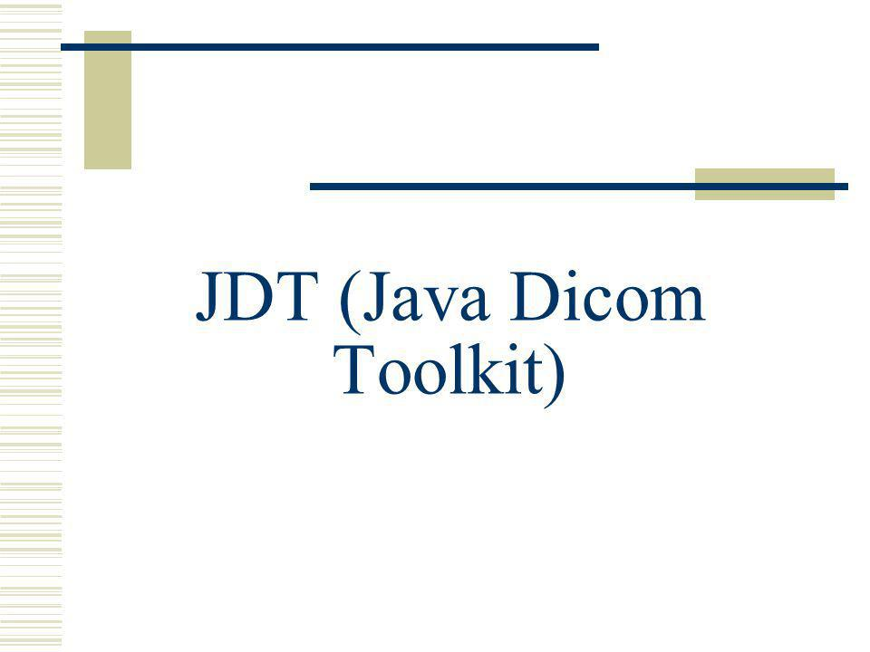 JDT (Java Dicom Toolkit)