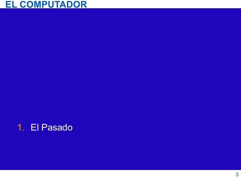 El Computador 24 Núcleos Caché L3 común Intel Core i7 2008 El Presente