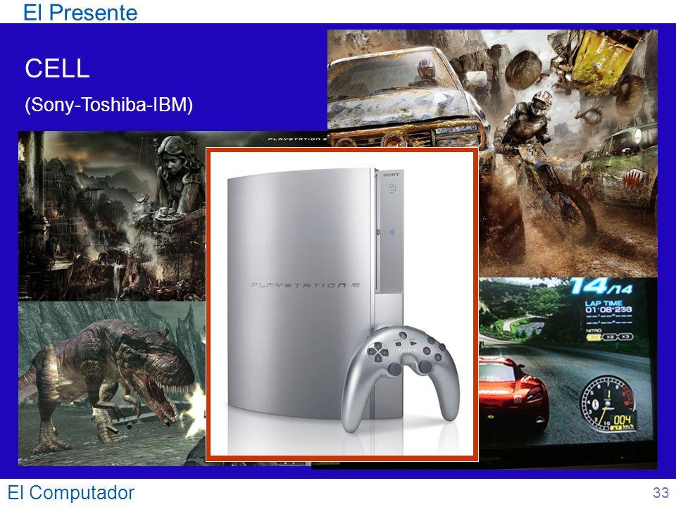 El Computador 33 CELL (Sony-Toshiba-IBM) El Presente