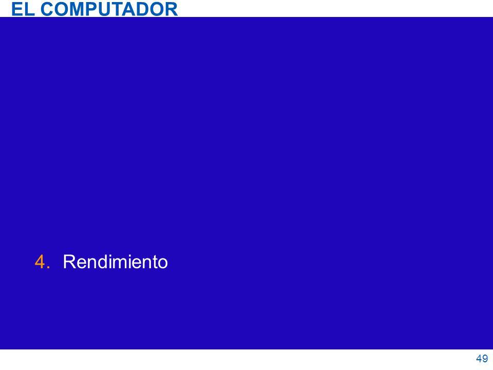 4.Rendimiento 49 EL COMPUTADOR