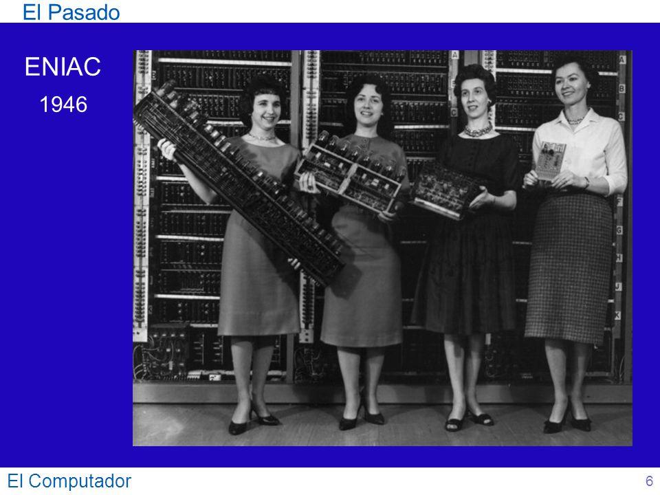 El Computador 7 ESPAÑA 1954 El Pasado
