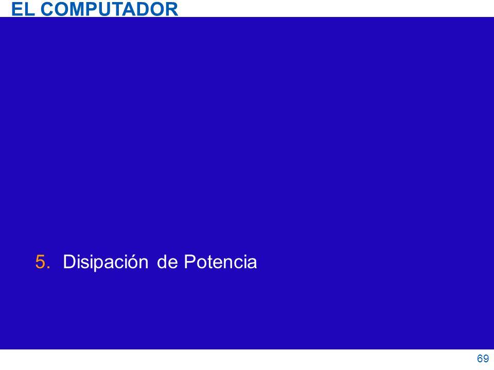 5.Disipación de Potencia 69 EL COMPUTADOR