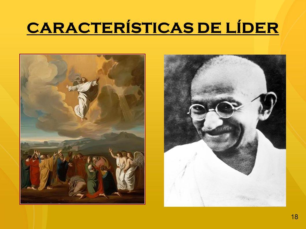 CARACTERÍSTICAS DE LÍDER 18