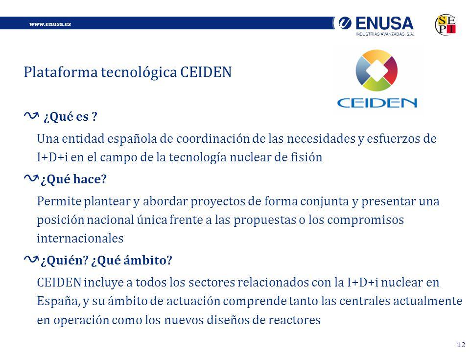 www.enusa.es 12 ¿Qué es .