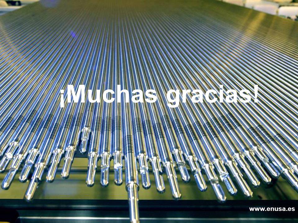www.enusa.es 31 www.enusa.es Enusa, Avanzamos con energía ¡Muchas gracias! www.enusa.es