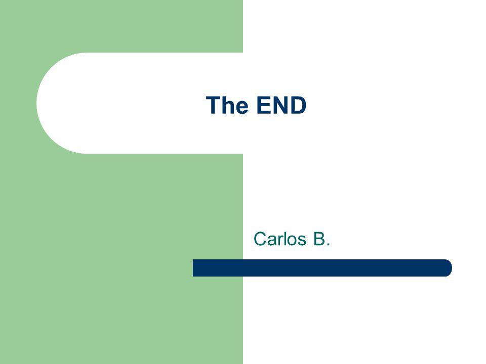 The END Carlos B.
