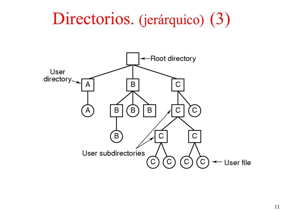 11 Directorios. (jerárquico) (3)