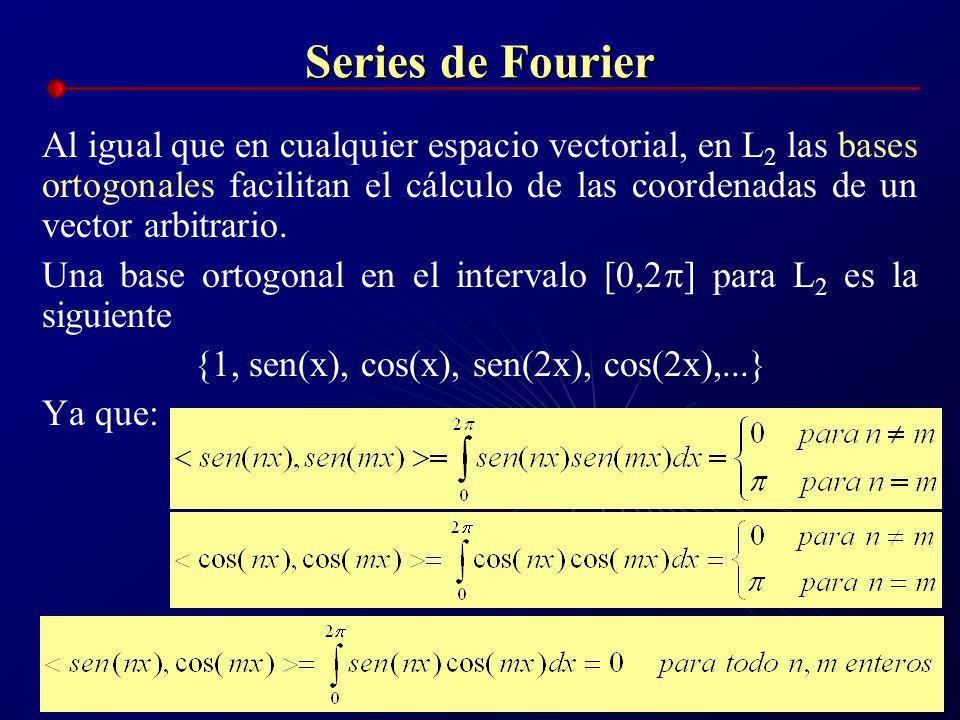 Bases Ortogonales Tarea: a)En R 2, proponer una base ortonormal diferente a la del ejemplo anterior y encontrar las coordenadas del vector arbitrario