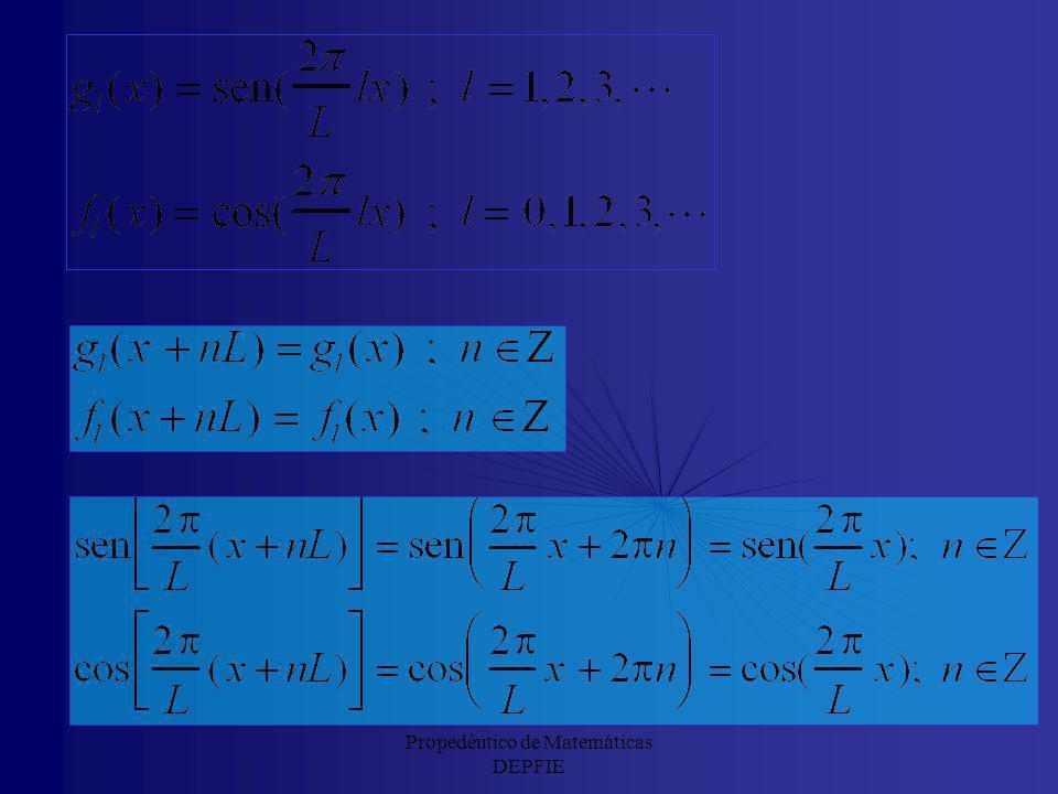 Por tanto, una función, f(x), de cuadrado integrable en el intervalo (a,b) se puede descomponer en esta base ortogonal. A ese desarrollo se le da el n