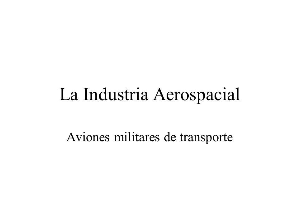 Visión General Gran diversidad de productos Coexistencia de nuevos productos con aviones desarrollados durante la guerra fría.
