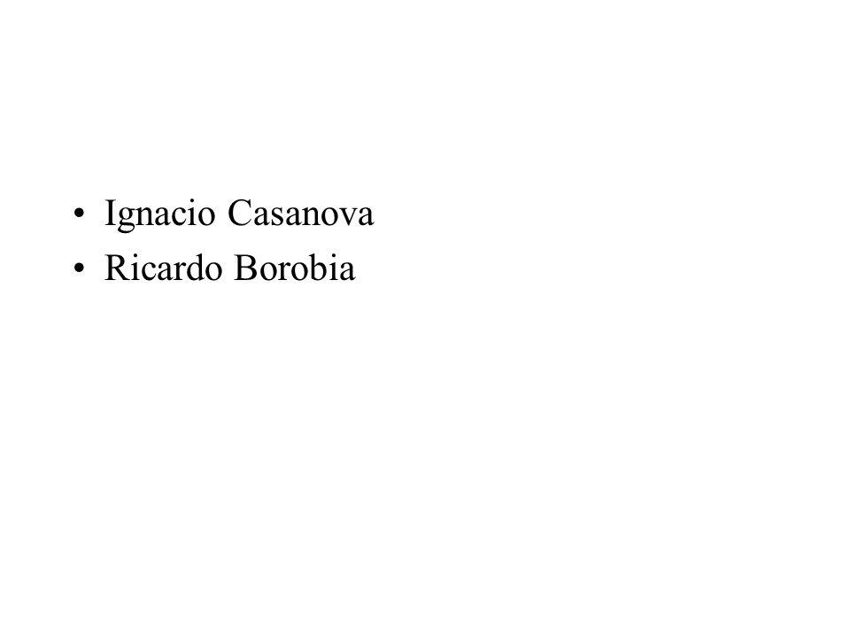 Ignacio Casanova Ricardo Borobia