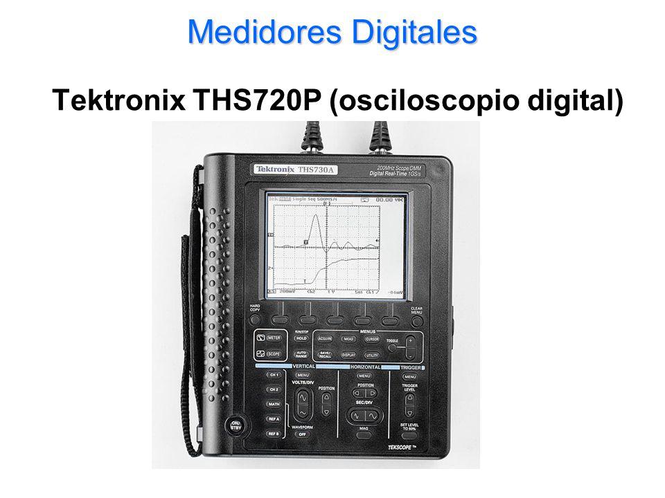 Medidores Digitales Tektronix THS720P (osciloscopio digital)
