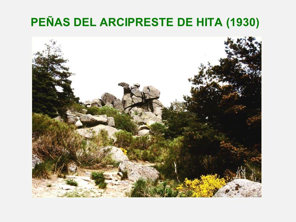 PEÑAS DEL ARCIPRESTE DE HITA (1930)