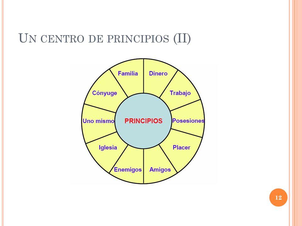 U N CENTRO DE PRINCIPIOS (II) 12