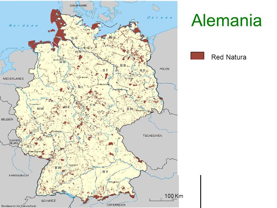 Alemania Red Natura 100 Km