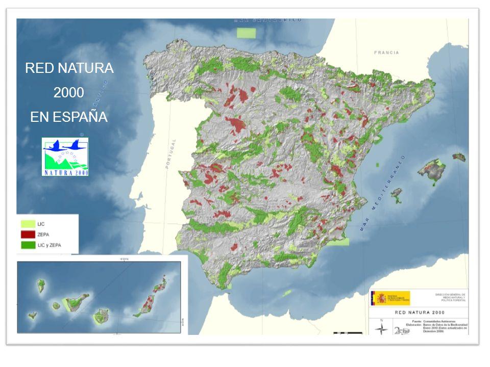 RED NATURA 2000 EN ESPAÑA