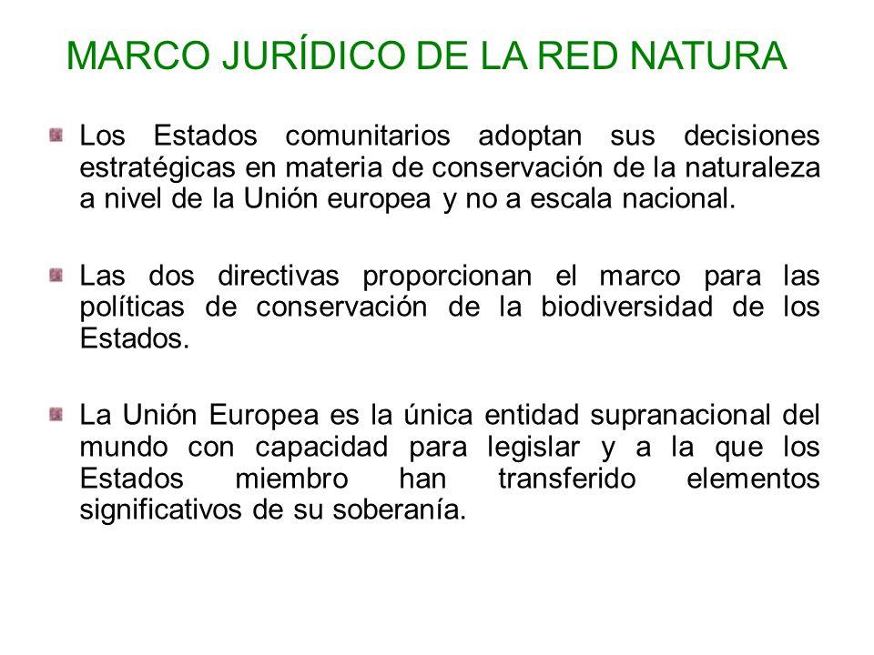 Los Estados comunitarios adoptan sus decisiones estratégicas en materia de conservación de la naturaleza a nivel de la Unión europea y no a escala nac