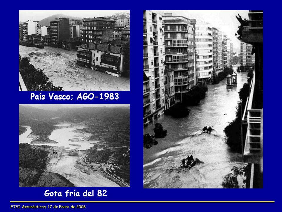 ETSI Aeronáuticos; 17 de Enero de 2006 País Vasco; AGO-1983 Gota fría del 82