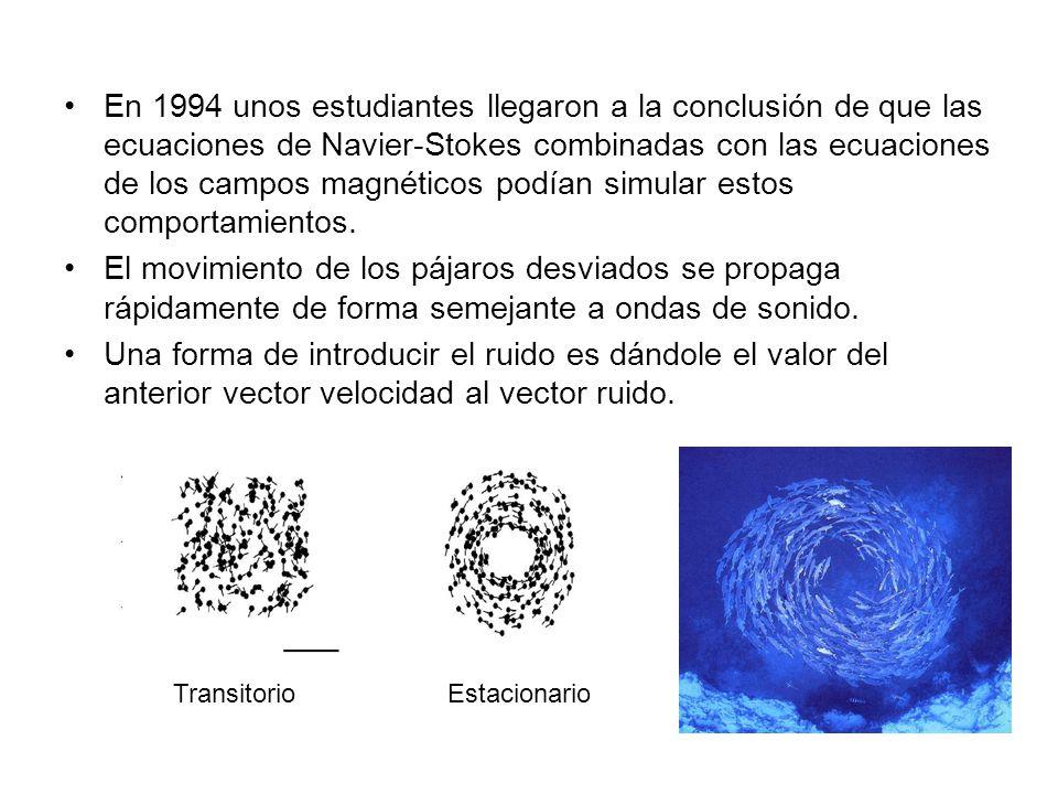En 1994 unos estudiantes llegaron a la conclusión de que las ecuaciones de Navier-Stokes combinadas con las ecuaciones de los campos magnéticos podían simular estos comportamientos.