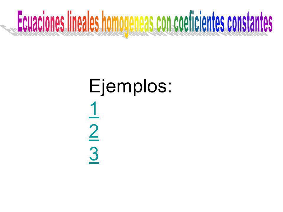 Ejemplos: 1 2 3
