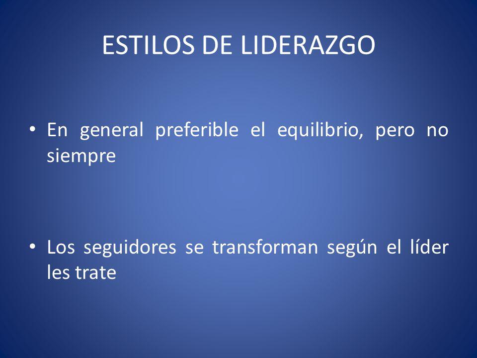 CARACTERÍSTICAS DE LOS SEGUIDORES Grado de libertad Independencia y autonomía Toma de decisiones
