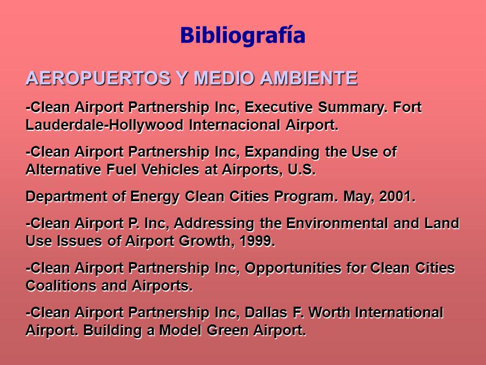 AEROPUERTOS Y MEDIO AMBIENTE -Clean Airport Partnership Inc, Executive Summary.