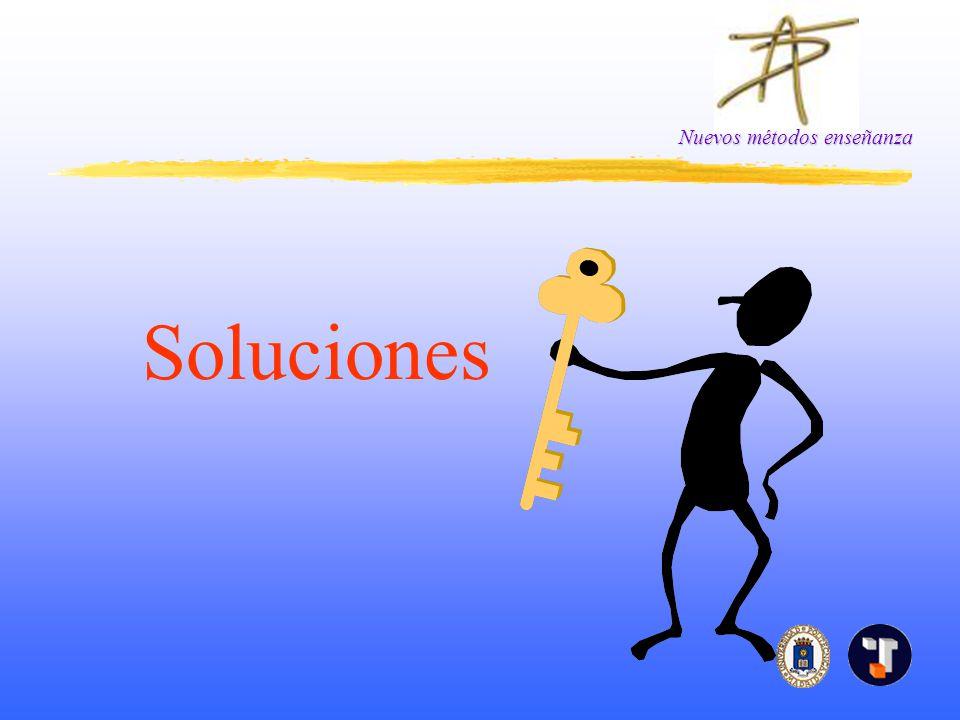 Nuevos métodos enseñanza Soluciones