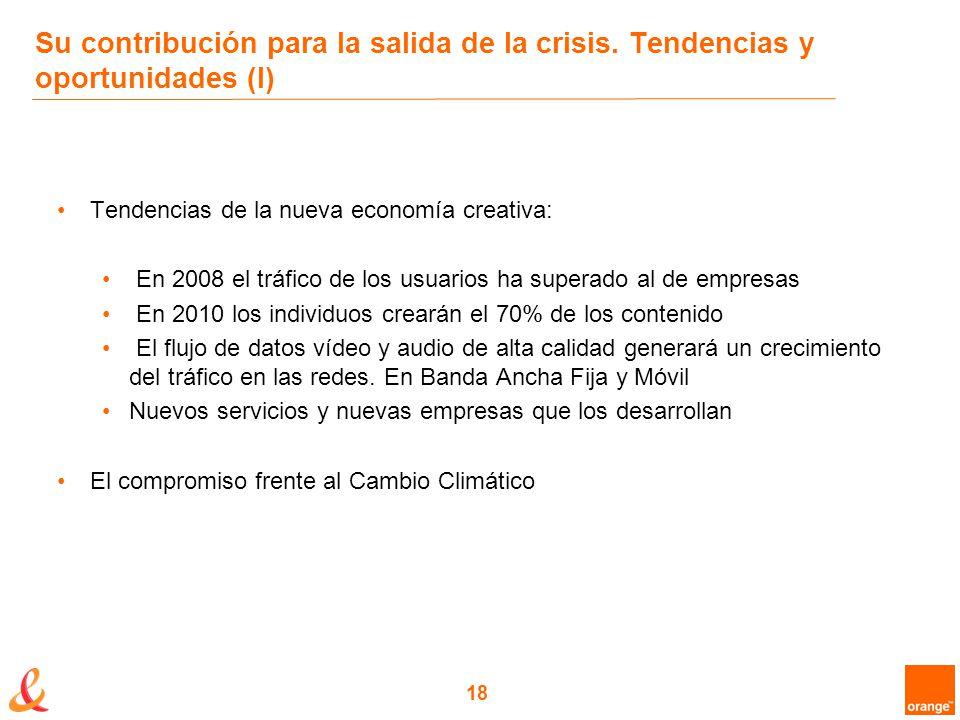 18 Su contribución para la salida de la crisis.