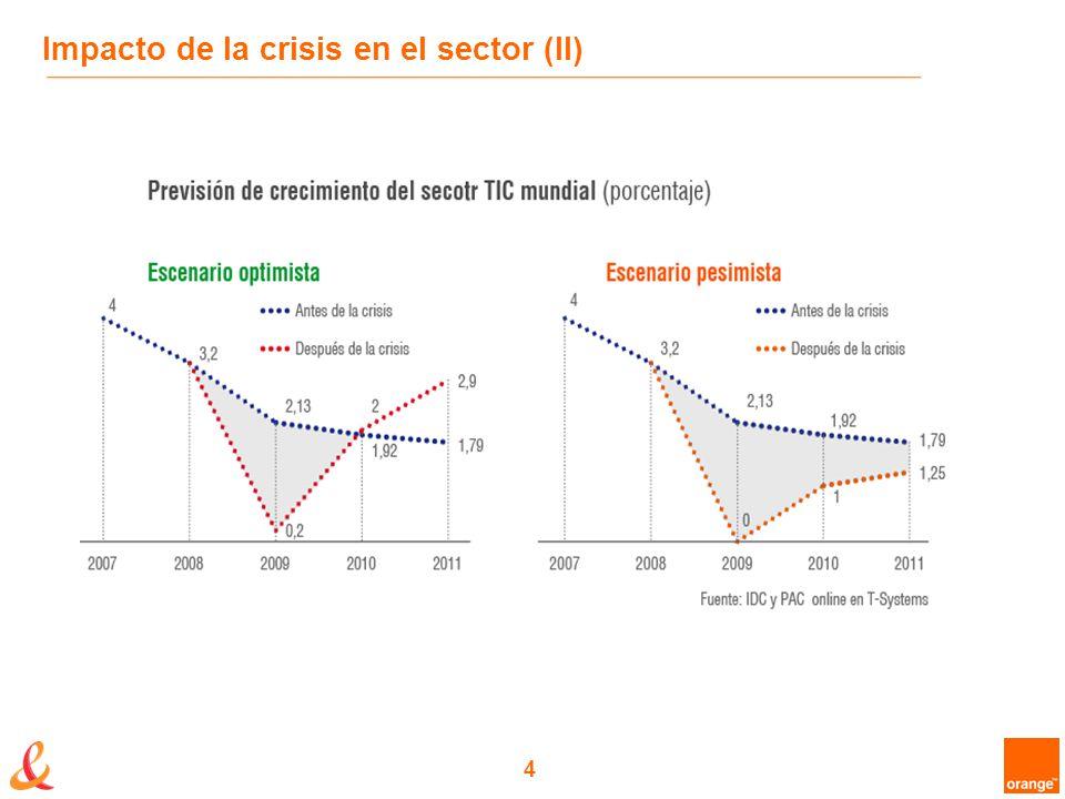 4 Impacto de la crisis en el sector (II)