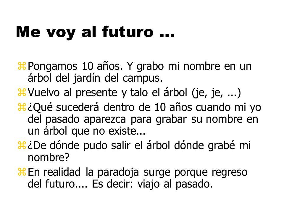 10 de Marzo del 2014: parto hacia el futuro en la MT.